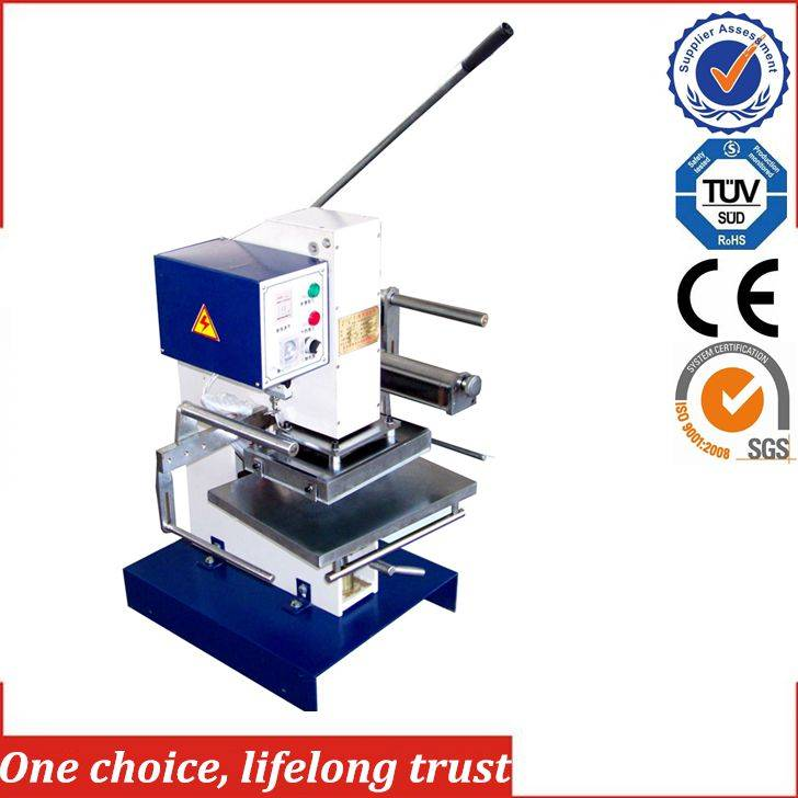 TJ-30 manual gift box logo embossing machine