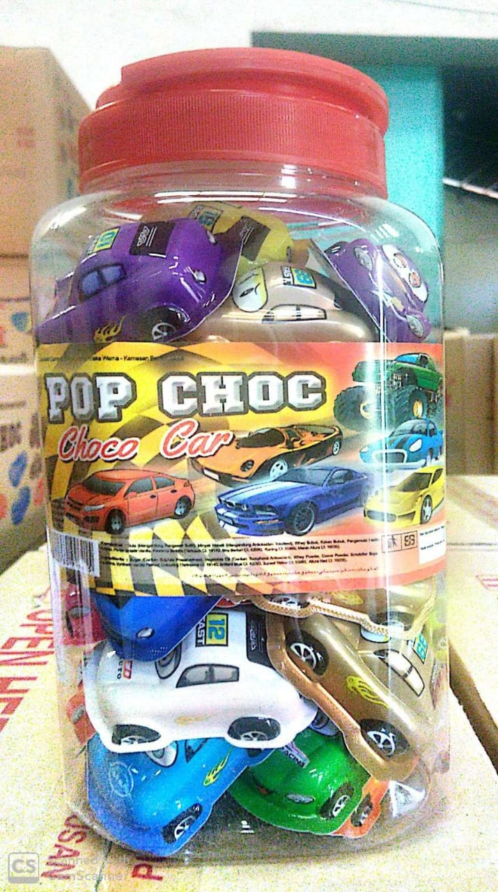 Pop Choc Choco Car Shaped