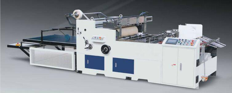 LC-650/1080 Full Automatic Carton Window Film Sticking Machine (Envelope Making Machine)
