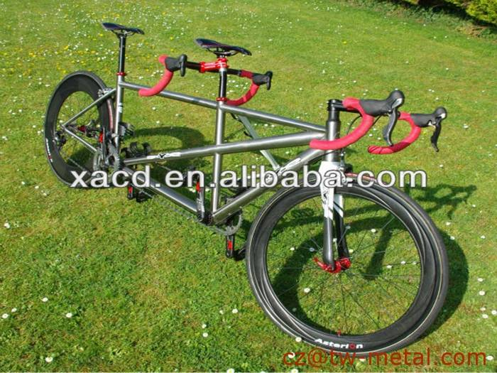 Titanium tandem bicycle frame Ti tandem bike frame Customized bike part