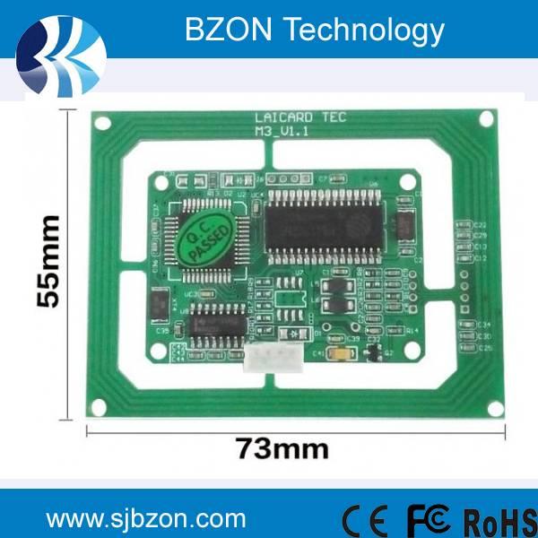 13.56MHz IC card reader module
