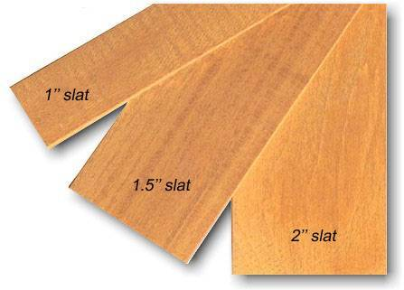 Wooden Blind Slat (Litong Wood)