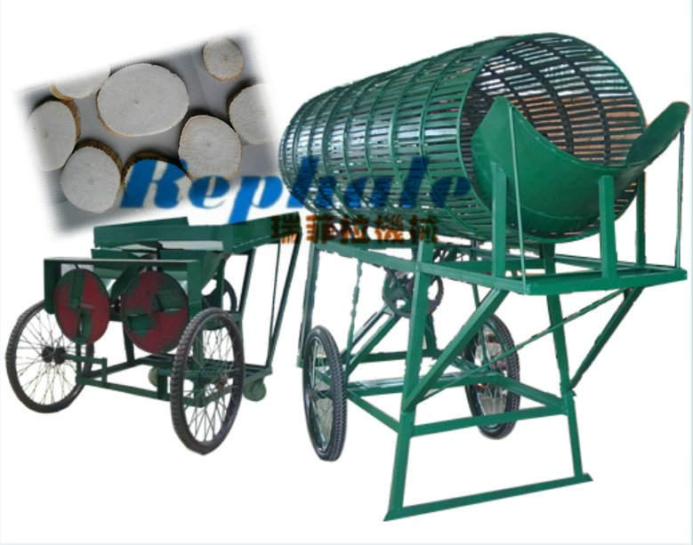5ton 10ton cassava peeling machine cutting combination machine