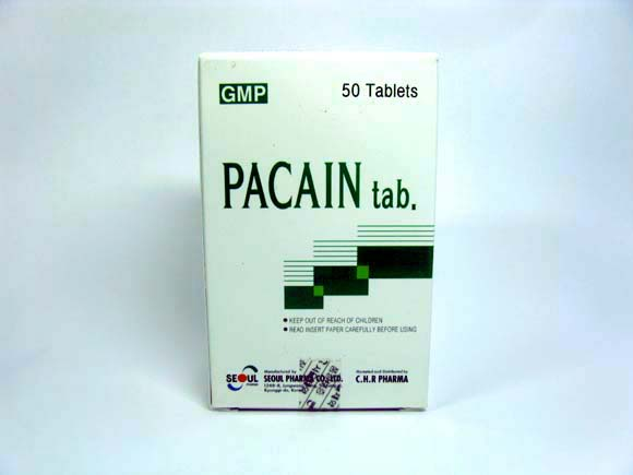 Medicine (PACAIN tab)