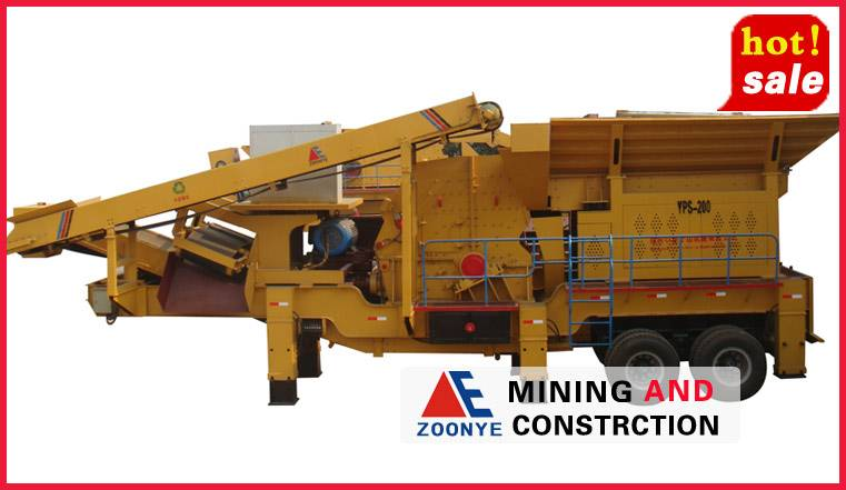 Mobile Stone Crusher Machine Usage and Application