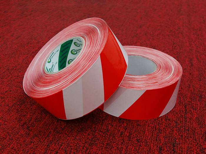 Colored Floor Glue Warning Tape PVC Marking Tape