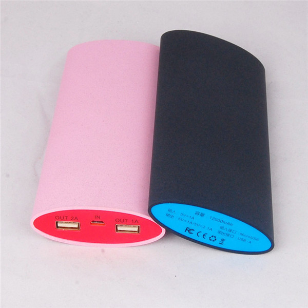 15600mAh power bank with dual USB charger