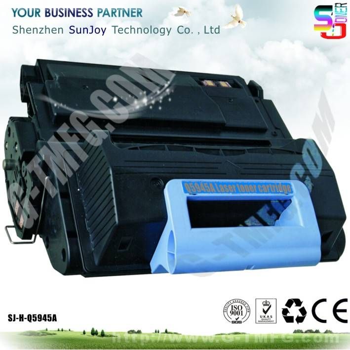 Sunjoy 45A toner cartridge Q5945A compatible for  HP LaserJet M4345 MFP