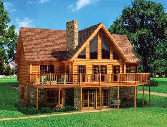 high quality prefabricated log homes