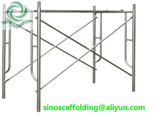 H Frame Scaffolding shoring frame scaffolding ladder frame for construction