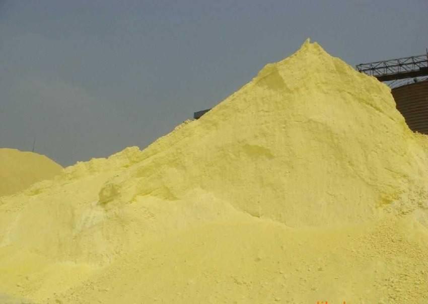 sulphur industry grade