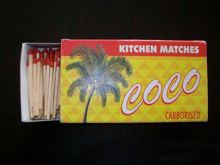 Hotel promotion safety matches, advertising matches