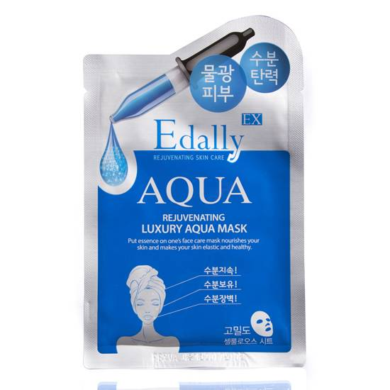 Coreana Edally EX Aqua Mask Sheet 1Box * 10ea 100% Korean Cosmetic