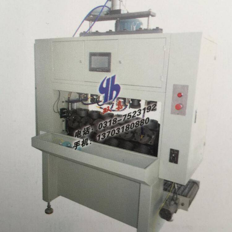 oil and fuel filter base plate tapping machine
