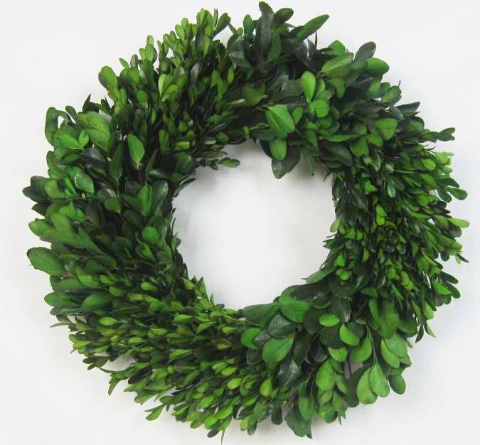 Dried flower wedding wreath
