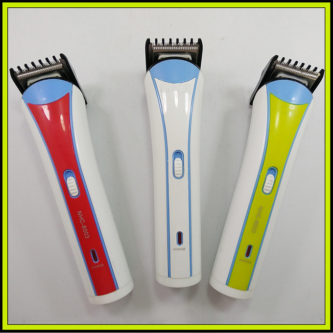 NHC-8003 Professional Electronic Hair Cutting Tool Hair Trimmer Rechargeable Hair Clipper