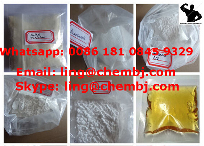 Clostebol Acetate Hormone Oral Anabolic Steroids CAS 855-19-6 For Fat Burning