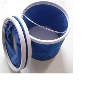 Oxford portable bucket/folding bucket