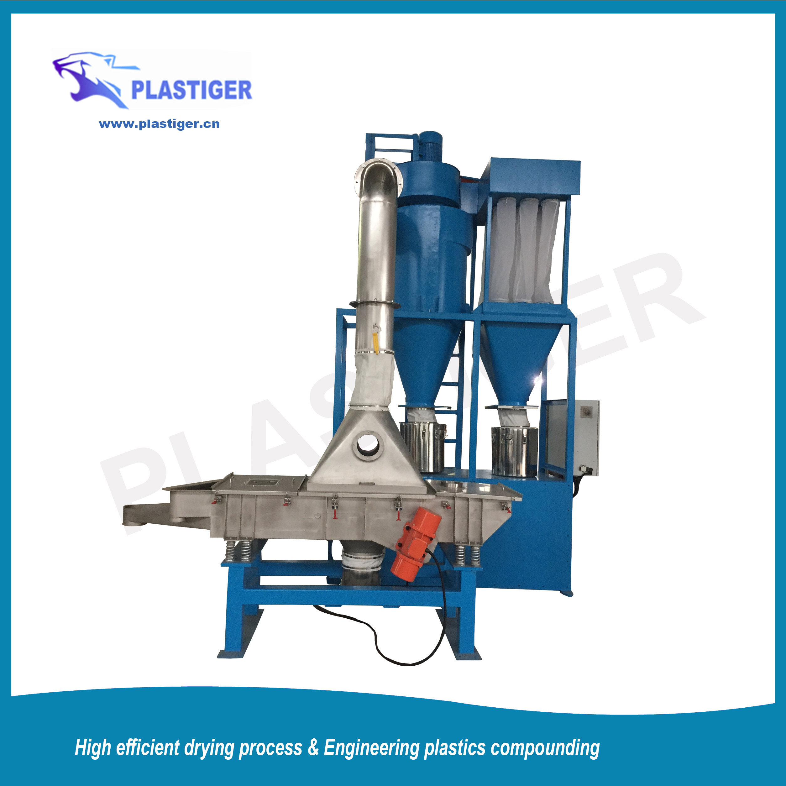 Multifunctional Reciprocating Classifier for drying and sieving