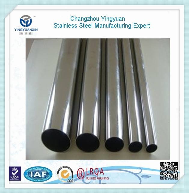 Stainless steel thin-wall tube and pipe