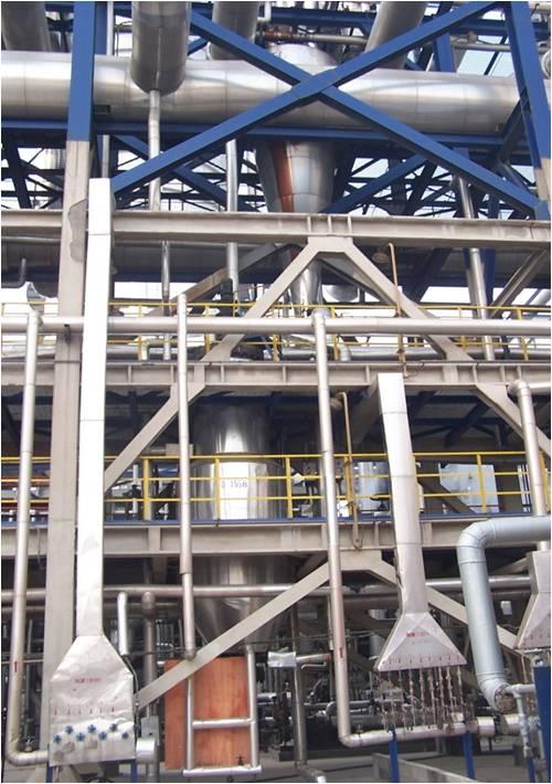 Quench oil filter for ethylene plant