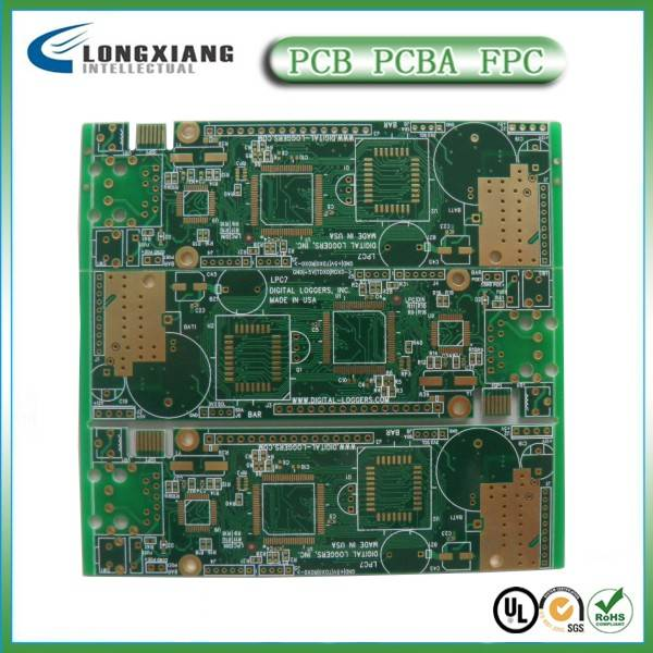 6-Layer pcb prototype,pcb layout design,pcb assembly