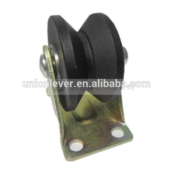2 inch V type rigid track wheel