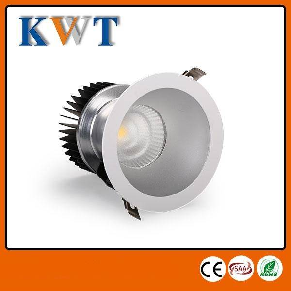 China supplier dimmable cob led downlight 28w cutout 175mm