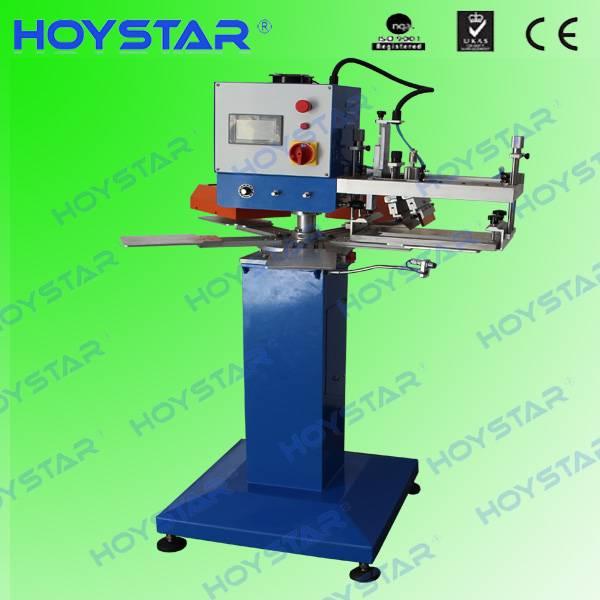 new single color screen neck label printing machine