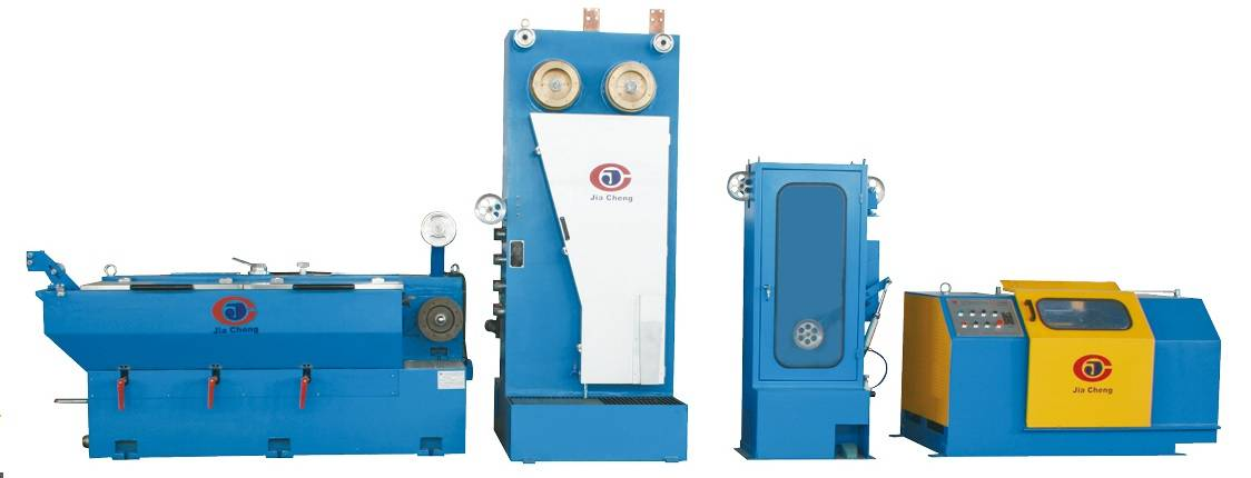 Two wires Intermediate Wire Drawing Machine with Annealing