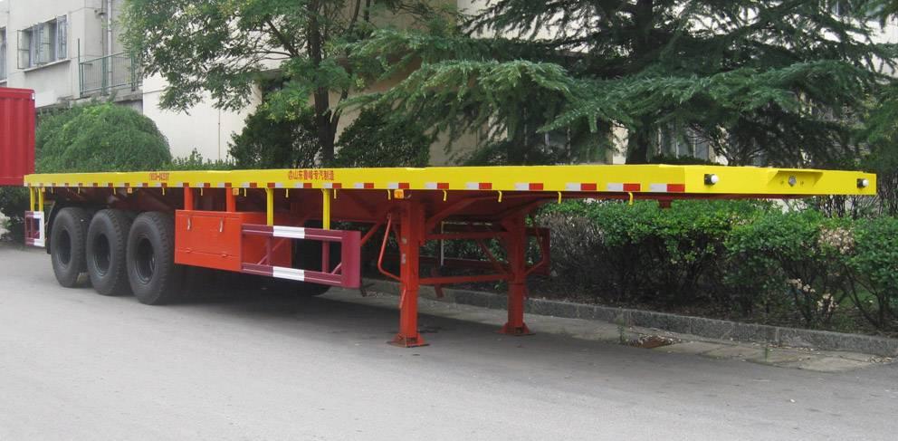 Tri-axle Flatbed Semi-trailer ST9401TJZ