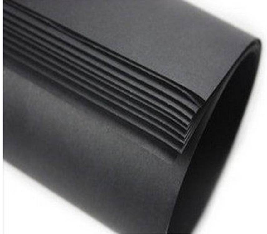 Recycled Paper Black Cardboard Paper Board for Packaging and Printing