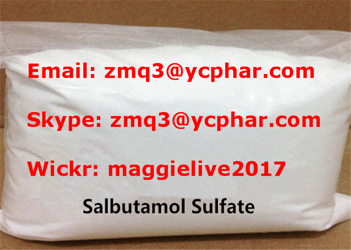 Salbutamol Sulfate Natural Weight Loss Powder For Fat Burning CAS 51022-70-9