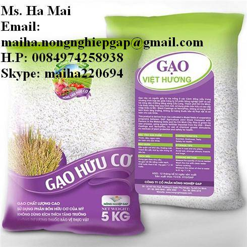 VIET HUONG 5% BROKEN LONG GRAIN RICE FROM VIETNAM-MS HA 84974258938