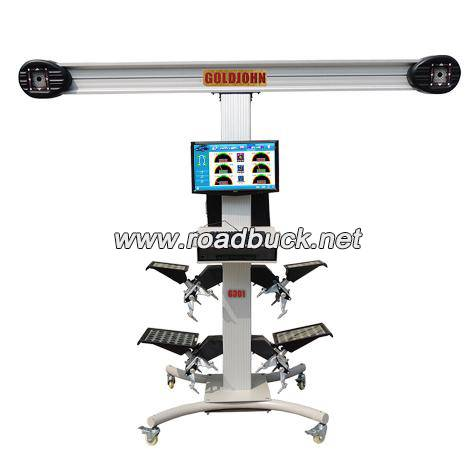 Road Buck G301 lightweight car wheel alignment