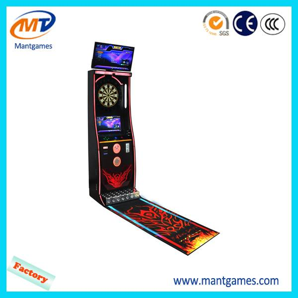 Newest design !coin operated dart boards mantong dart machine for sale