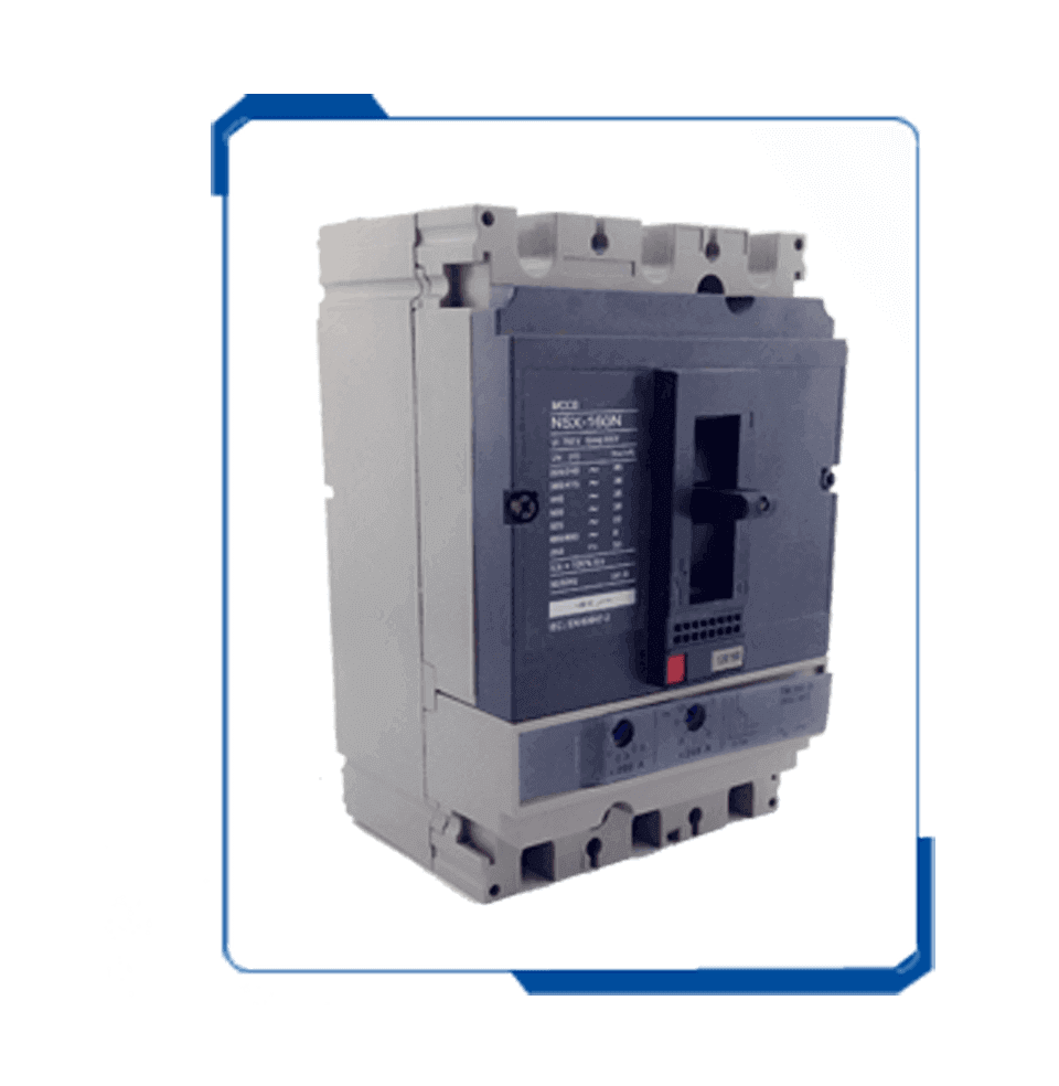 Ns 3 phase mccb 100a electrical circuit breaker