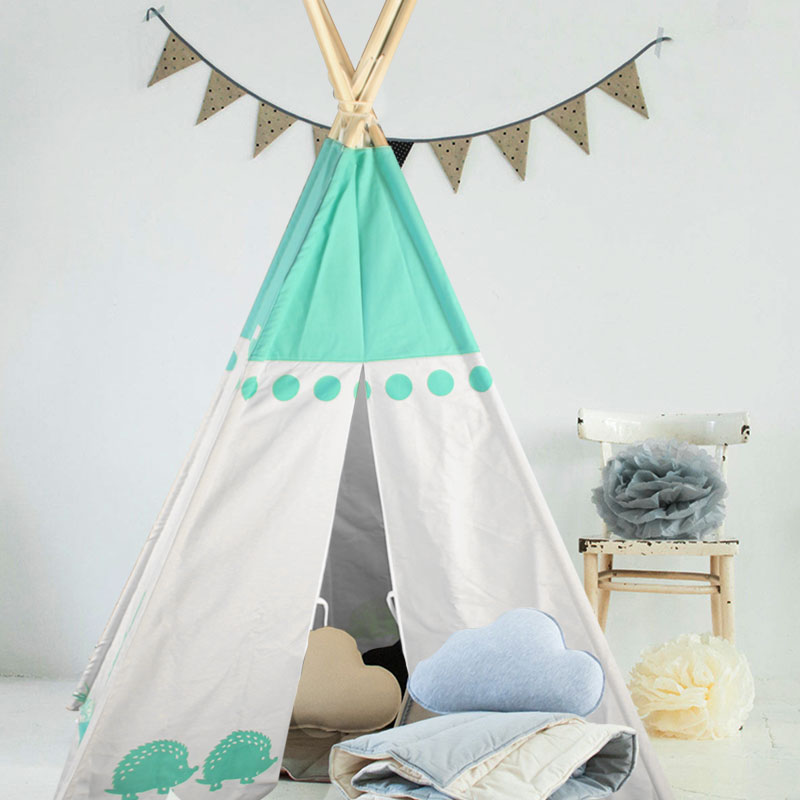 Canvas Indoor Kids Play Tents for Sale,Teepee Wholesale