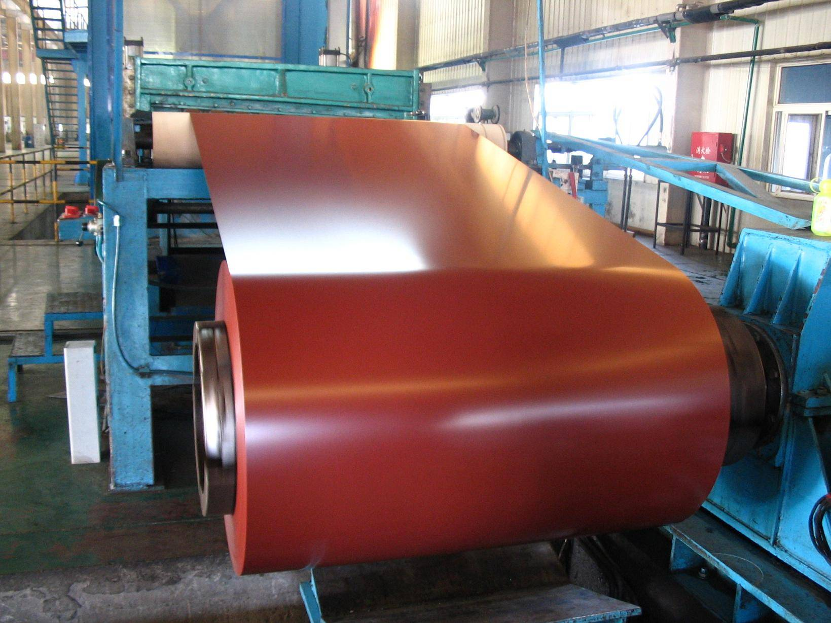High-strength Steel Plate Special Use and Steel Coil Type prepainted galvanized steel coil