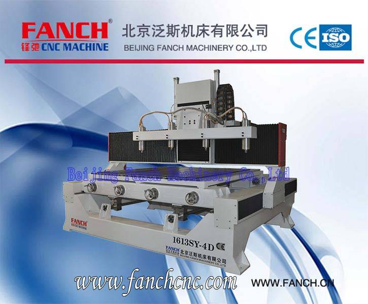 Wood Four Axis 3D Engraving Machine[FC-1613SY-4D]