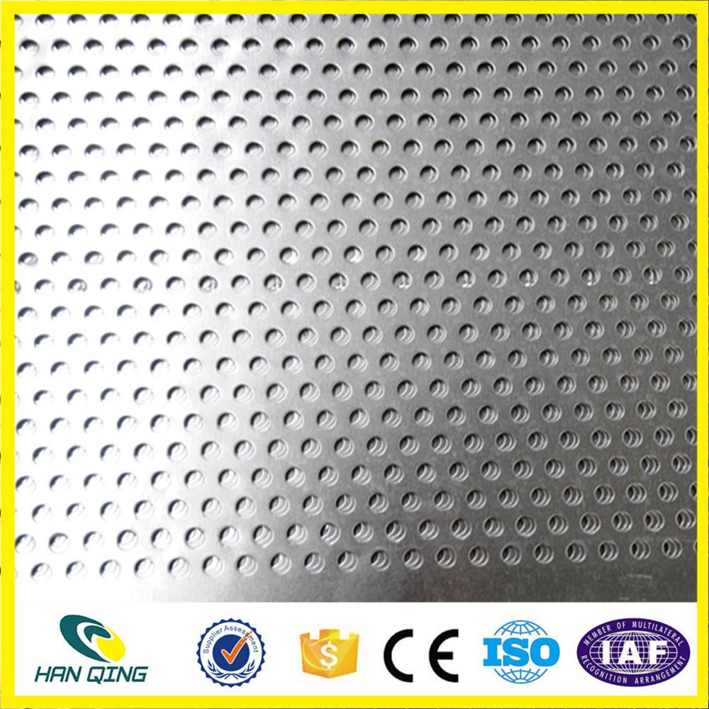 stainless steel preforated wire mesh panel
