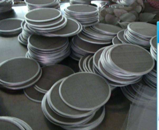 5 layers Stainless Steel Sintered Filter Disc Mesh