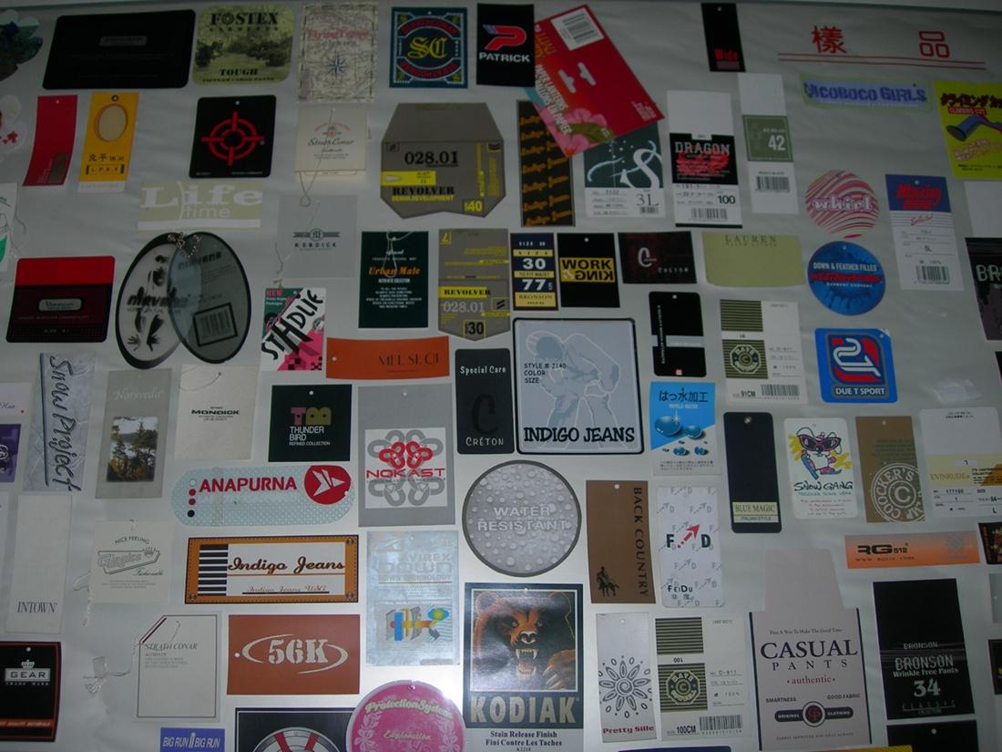 Tag & Label Paper tag. cloth hang. hang tag as Clothing Accessories Washing guidance tag, Price tag
