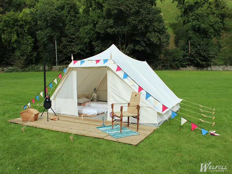 Outdoor Beige Canvas Party Tent