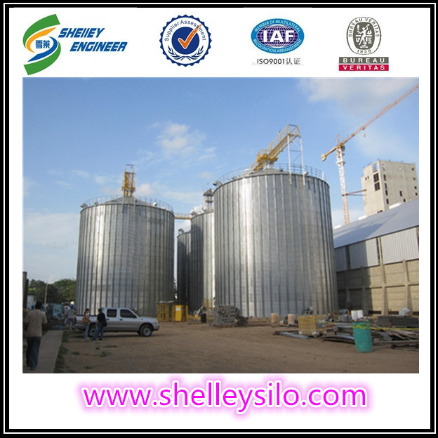 Galvanized steel 10000ton grain silos price