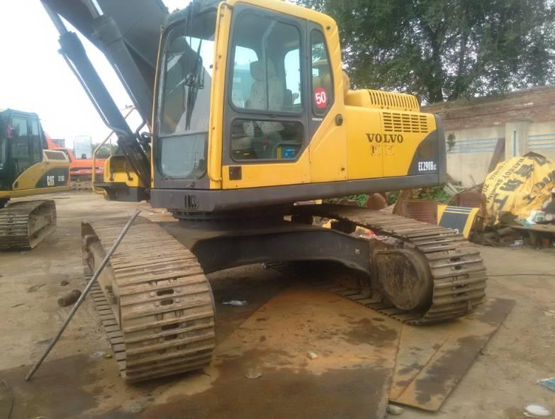 Used Secondhand Korea Original Hydraulic Crawler Excavator  EC290BLC EC290