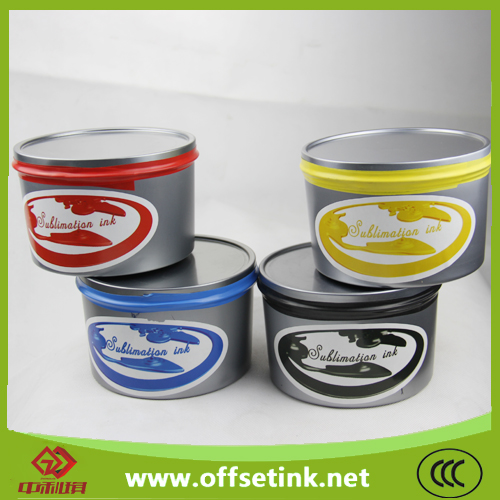 sublimation offset thermal transfer ink (quick-drying model)