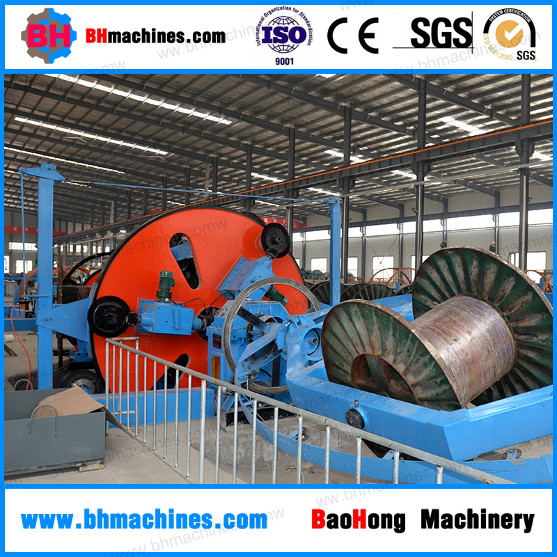 CLY1250/1+1+3 cable manufacturing plant of planetary cage type laying up machine
