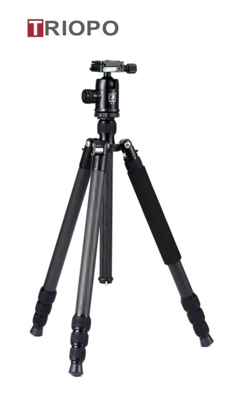 TRIOPO GT-2804X8.C+B-2 tripod kit ,camera tripod ,professional carbon fiber tripod and professional