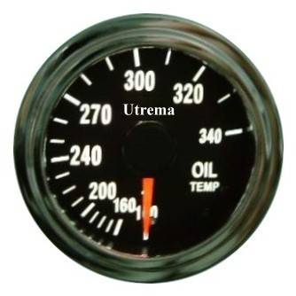 Utrema Auto Oil Temperature Gauge Illuminated 52mm